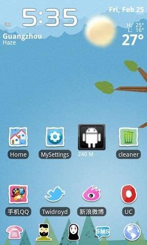 cartoon themes go launcher decora tu android con 7 temas para go launcher ex el