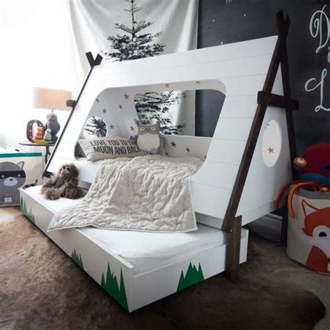 diy kids bedroom diy tepee kids bed popsugar home australia