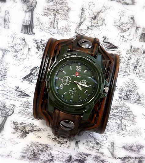 s leather cuff wrist bracelet