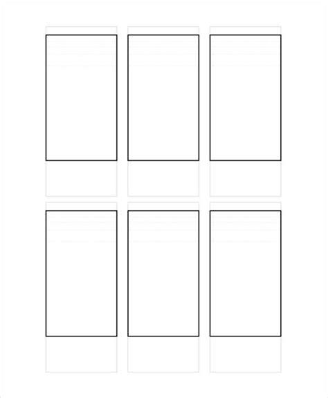 vertical storyboard template 5 vertical storyboard sle free sle exle