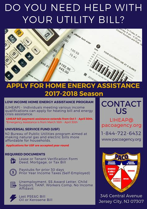home energy assistance program liheap paco