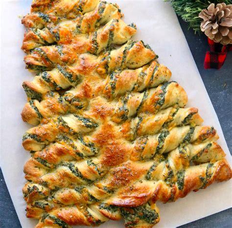 christmas tree spinach dip recipe kersthapjes inspiratie voor het kerstdiner thuis of op school