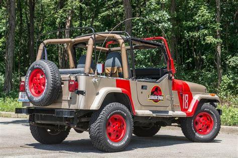 Jurassic Park 1 Jeep Jurassic Park Jeep Owner Still Revels In Creation