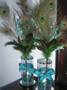 peacock centerpieces peacock centerpieces diy peacock feather centerpieces for a pretty glow add battery