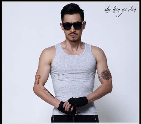 True Topi Kupluk Rajut singlet pria undershirt vest size m black