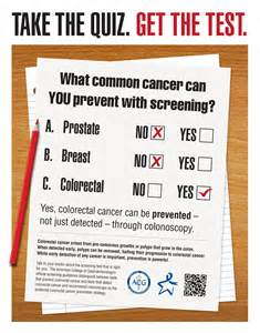 colorectal cancer awareness american college of