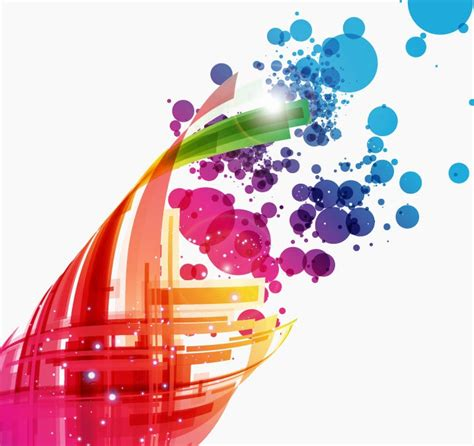 colorful design colorful abstract design background vector art free