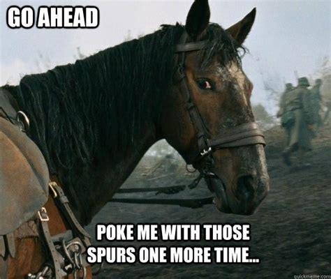 war horse memes quickmeme critters pinterest horse