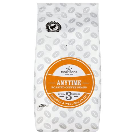 Coffee 4 Me Anytime by Morrisons Morrisons Anytime Coffee Beans 227g Product