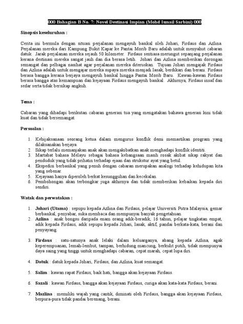 Novel - Destinasi Impian - Copy