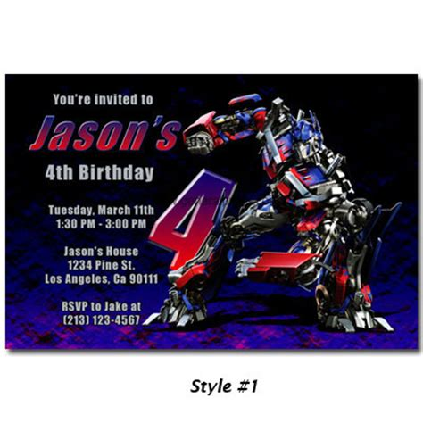 transformers birthday invitations template quotes for birthday invitations quotesgram