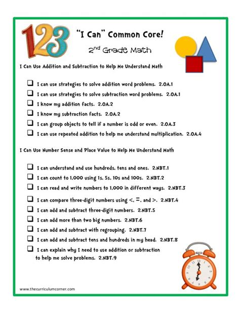 1000 images about 1st grade on core standards cool science experiments and word first grade common core math skills checklist 1000 ideas