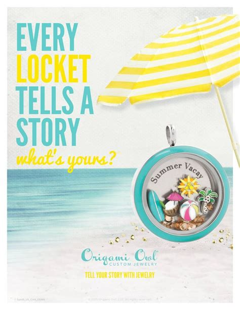 Origami Owl Summer - 83 best images about origami owl 174 summer 2015