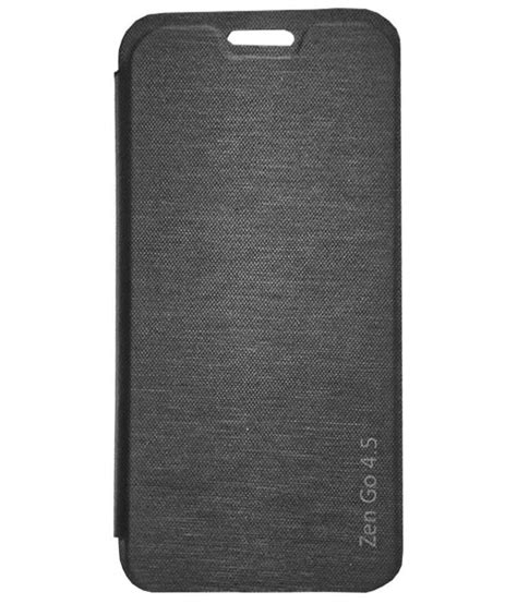 Flip Cover Asus Zenfone 4 5 tbz flip cover for asus zenfone go 4 5 black available at