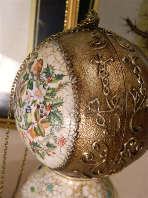 decoupage balls 17 best images about decoupage balls on