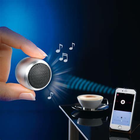 mini bluetooth lautsprecher mini speaker silber
