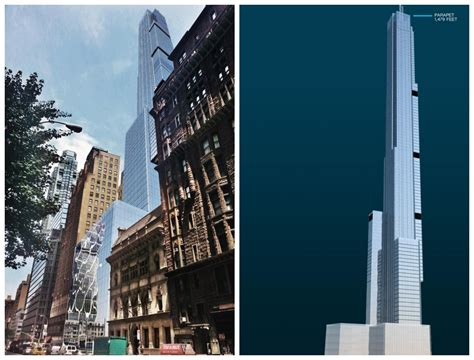 Trump World Tower extell s nordstrom tower will be just a foot shorter than