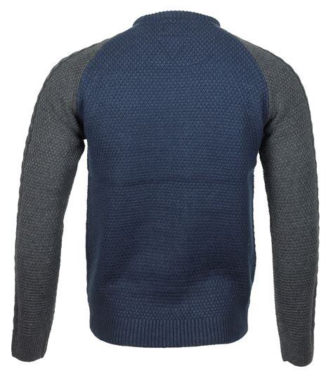 cable knit mens sweater mens winter cable knit crew neck casual smart sweater