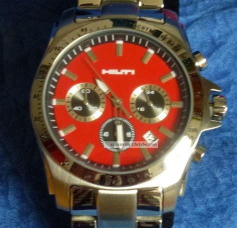 hilti armbanduhr chronograph madison taucheruhr uhr geschenkidee selten