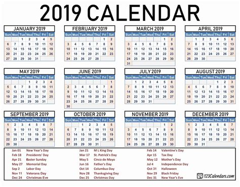 2017 to 2018 2 page per month academic calendar