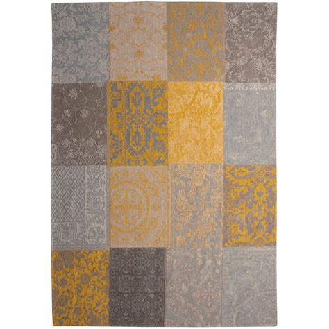 rug yellow the yellow patch rug view this stylish rug at barker