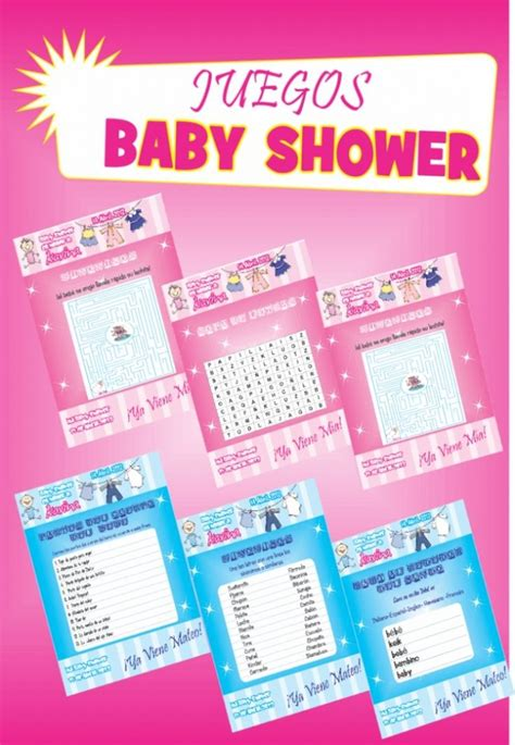 Ideas De Juegos Para Baby Shower by Juegos De Baby Shower Para Imprimir Babyshower Ideas