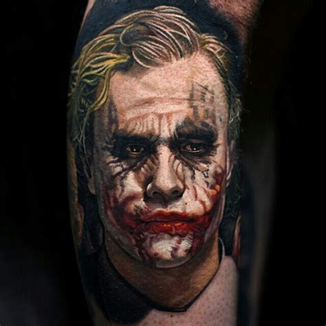 joker tattoo movie joker heath ledger tattoos pinterest heath ledger
