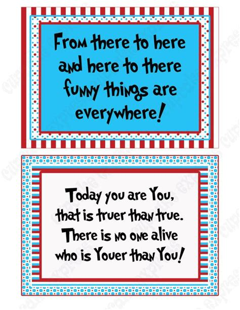 printable seuss quotes 30 dr seuss printable quotes quotesgram