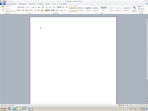 Microsoft Word 2010 Microsoft 174 Office 2010 Technical Preview X86