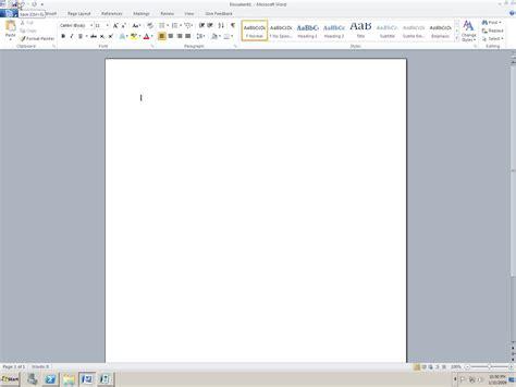 Microsoft Office Word 2010 Screenshots Of Microsoft Office 2010 Programs Including