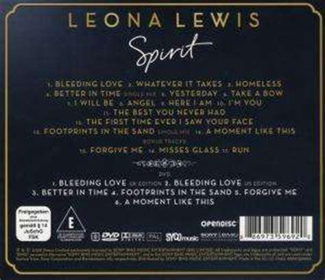 Cd Spirit Deluxe Edition Bonus Dvd Leona Lewis leona lewis spirit the deluxe re edition cd dvd cd jpc