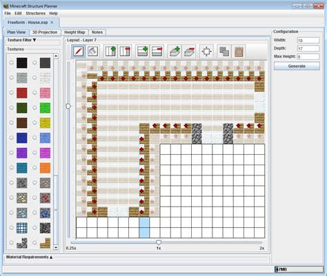 online minecraft floorplanner minecraft structure planner minecraft structure planner application minecraft tools