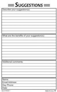 suggestion form template free suggestion box forms templates foto 2017