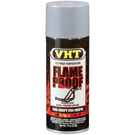 how to paint a ceramic l base vht 174 flameproof high temp paint flat gray primer 11 oz