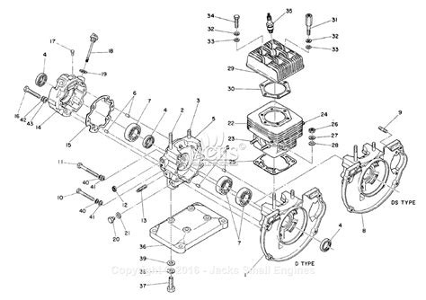 Robin Subaru Ec25 2 Parts Diagram For Crankcase Cylinder