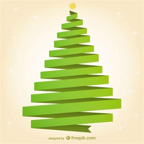 193 rbol de navidad de cinta verde descargar vectores gratis