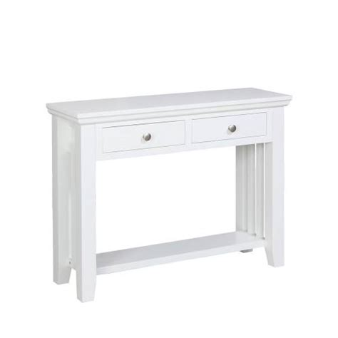 Kristina Painted Furniture Kristina White Painted Console White Console Desk