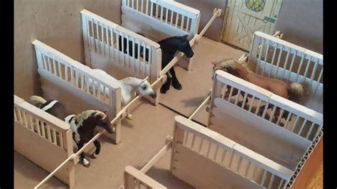 schleich breyer horse stall dividers