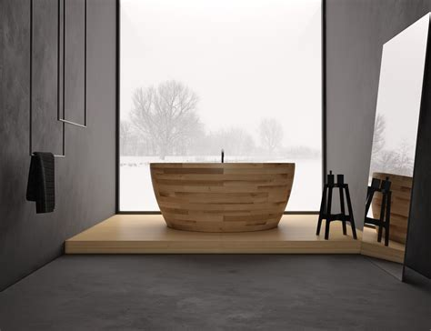design bathtub unique wooden bathtub design icreatived