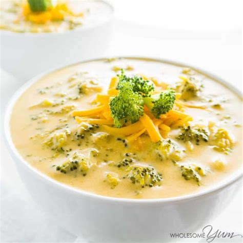 light broccoli cheese soup cottage cheese soup easy
