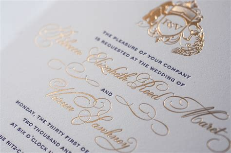 Rebecca   Varun's Lasercut and Gold Foil Wedding Invitations