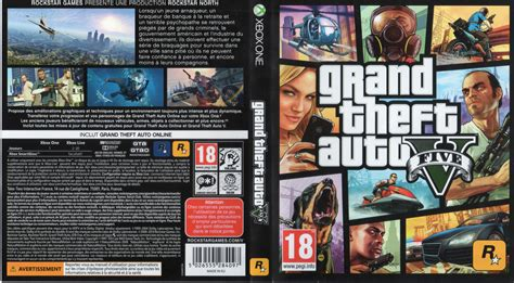Xbox One Gta V grand theft auto v dvd cover 2014 xbox one