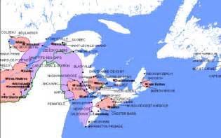 east coast map canada east coast map canada