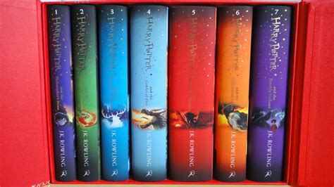 series the complete collection books harry potter complete collection 7 books set collection j