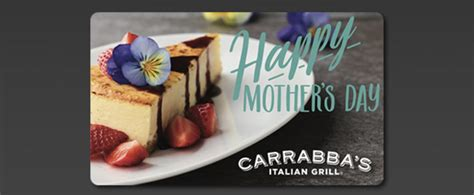 Carrabba S Gift Card Deal - buy 50 in carrabba s gift cards get 50 in bonus cards for free amex offer