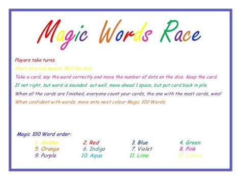magic 100 words 1000 images about magic words on pinterest alphabet