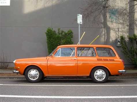 Old Parked Cars 1970 Volkswagen 1500 Squareback Wagon