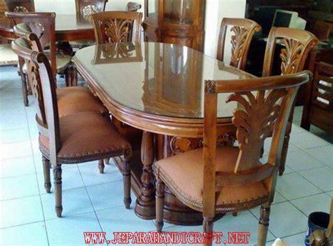 Meja Makan Jati Salina jual set kursi makan jati salina meja gendong