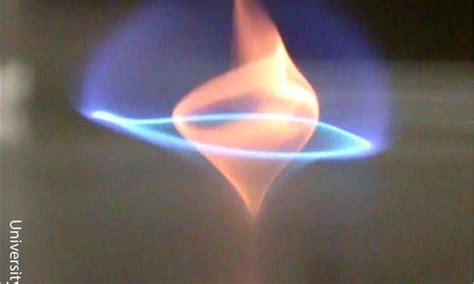 flame tornado l newly discovered blue whirl fire tornado burns cleaner for