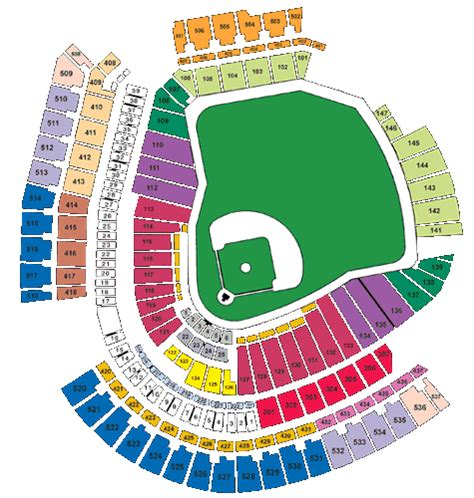 cincinnati reds seating chart with seat numbers great american ballpark seating chart www imgkid